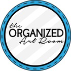The Organized Art Room