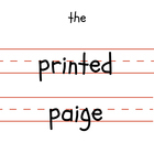 the printed paige