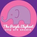 The Purple Elephant Clip Art Studio
