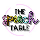 The Speech Table