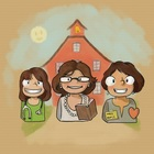 The Three Square Pegs