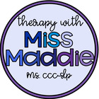 Therapy With Miss Maddie
