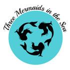Three Mermaids in the Sea