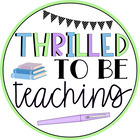 Thrilled Teaching Third