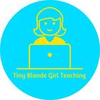 Tiny Blonde Girl Teaching