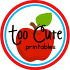 Too Cute Printables
