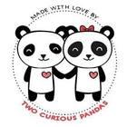 Two Curious Pandas