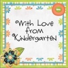With Love from Kindergarten