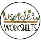 Wonder Over Worksheets