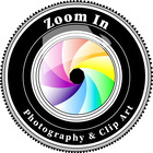 Zoom In Photography and Clip Art
