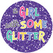 A Girl with Some Glitter