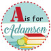 A is for Adamson