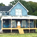 Blue Schoolhouse