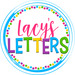 Lacy's Letters