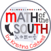 Math of the South by Kristina Caldwell