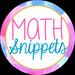 Math Snippets