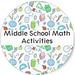 Middle School Math Activities