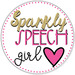 Sparkly Speech Girl