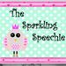 The Sparkling Speechie