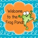Welcome to the Frog Pond